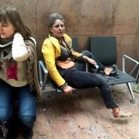 fotografia attacchi di bruxelles