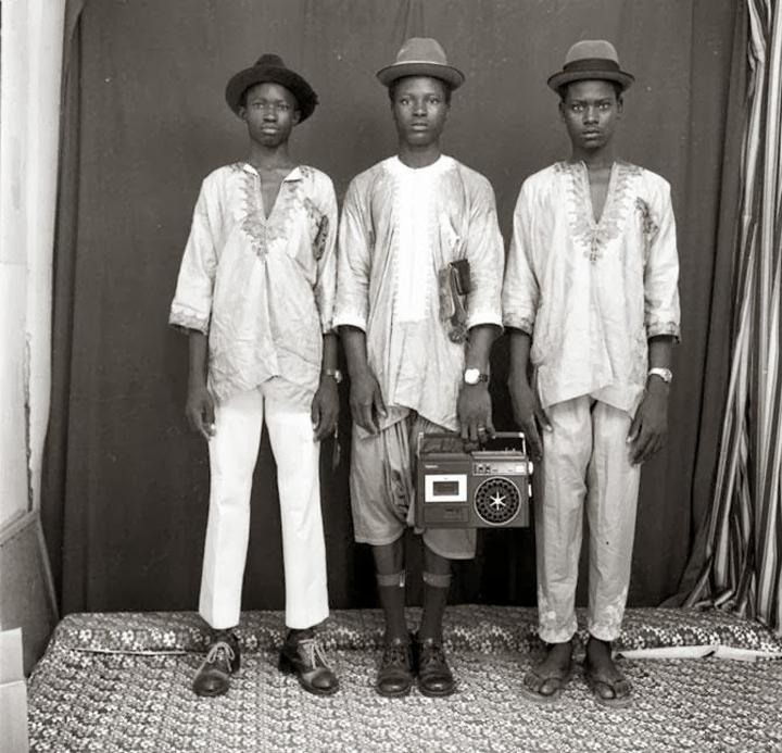 Malick Sidibé, Young Fulani Shepherds, Mali, 1972