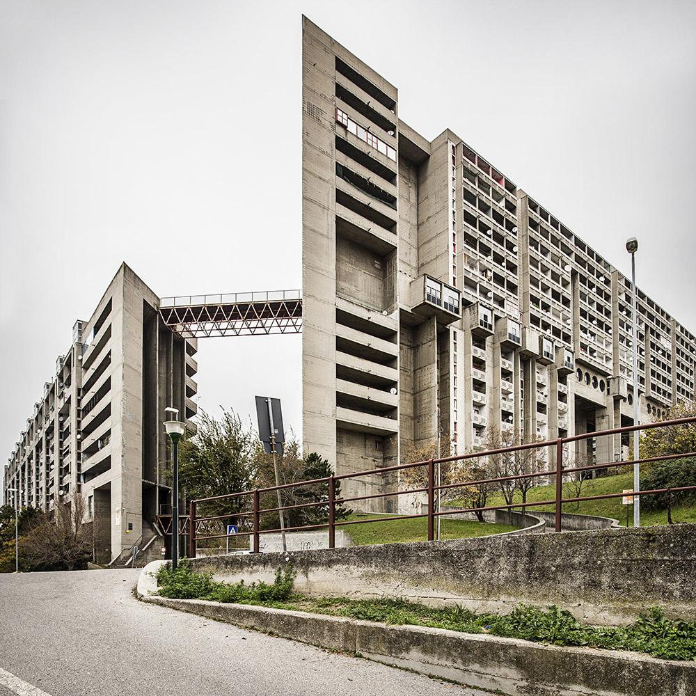 Roberto Conte - Complesso IACP Rozzol Melara, di Carlo Celli, Dario Tognon e altri (1969-1983). Trieste, Italia