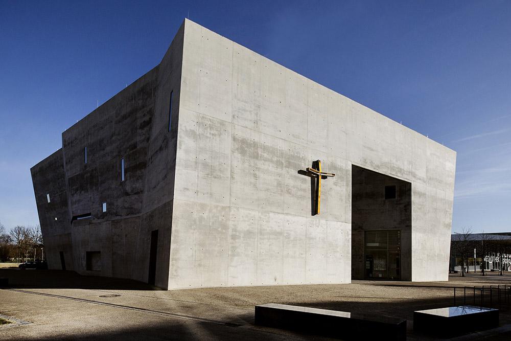 Roberto Conte - Chiesa di Maria Maddalena, di KSG - Kister Scheithauer Gross (2004). Friburgo in Brisgovia, Germania