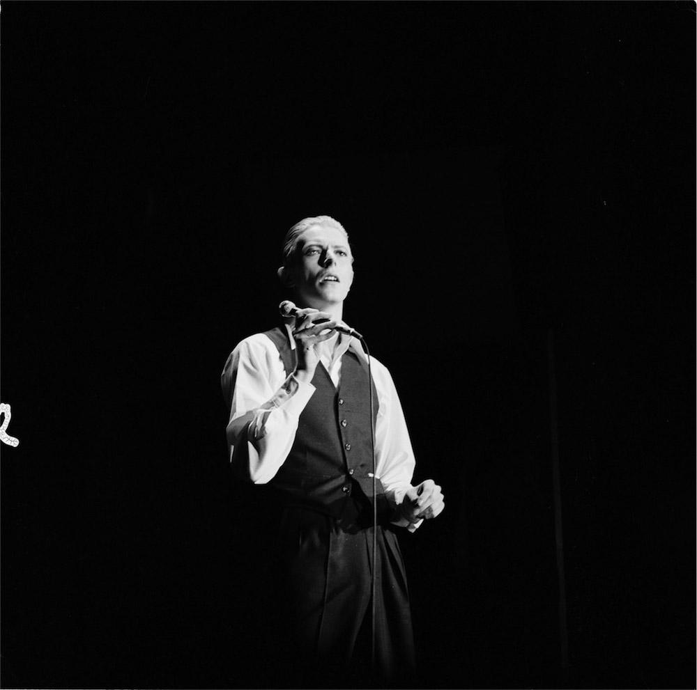 © Michael Putland, Bowie, 1976, The Thin White Duke