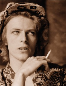 © Michael Putland, David Bowie, Haddon Hall, 1972