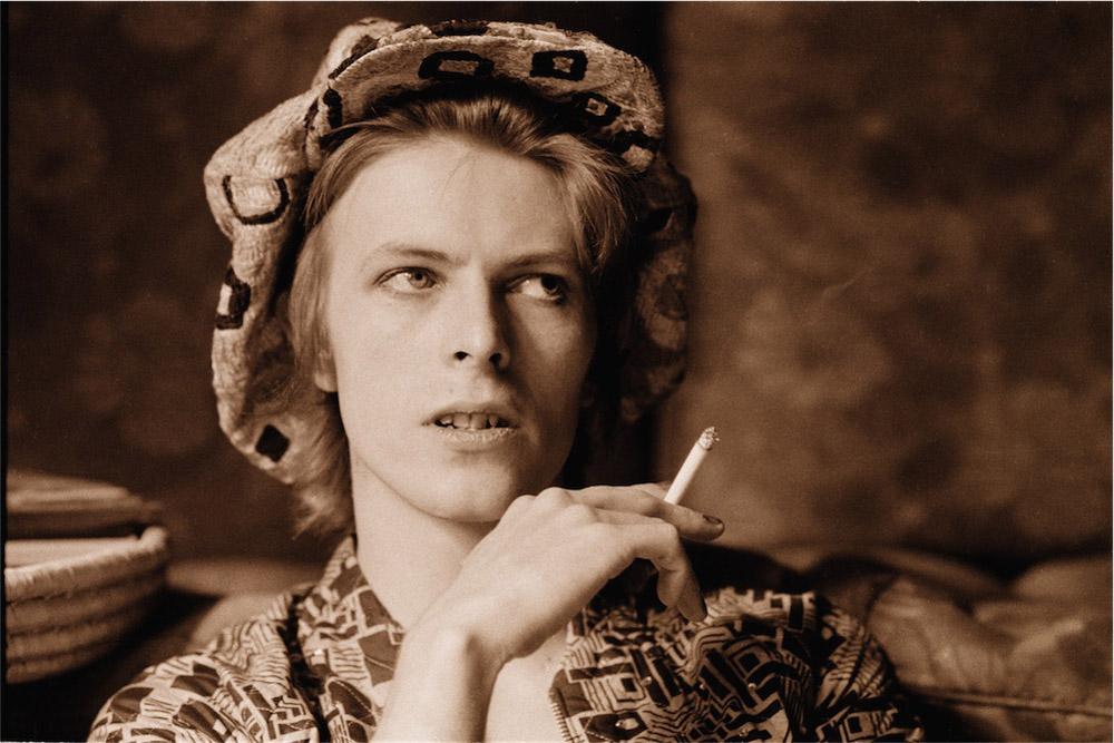 © Michael Putland, David Bowie, Haddon Hall, 1972