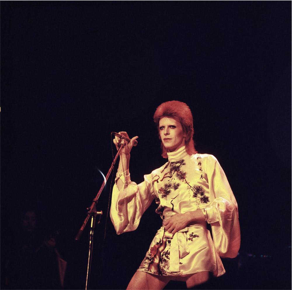 © Michael Putland, Bowie as Ziggy Stardust