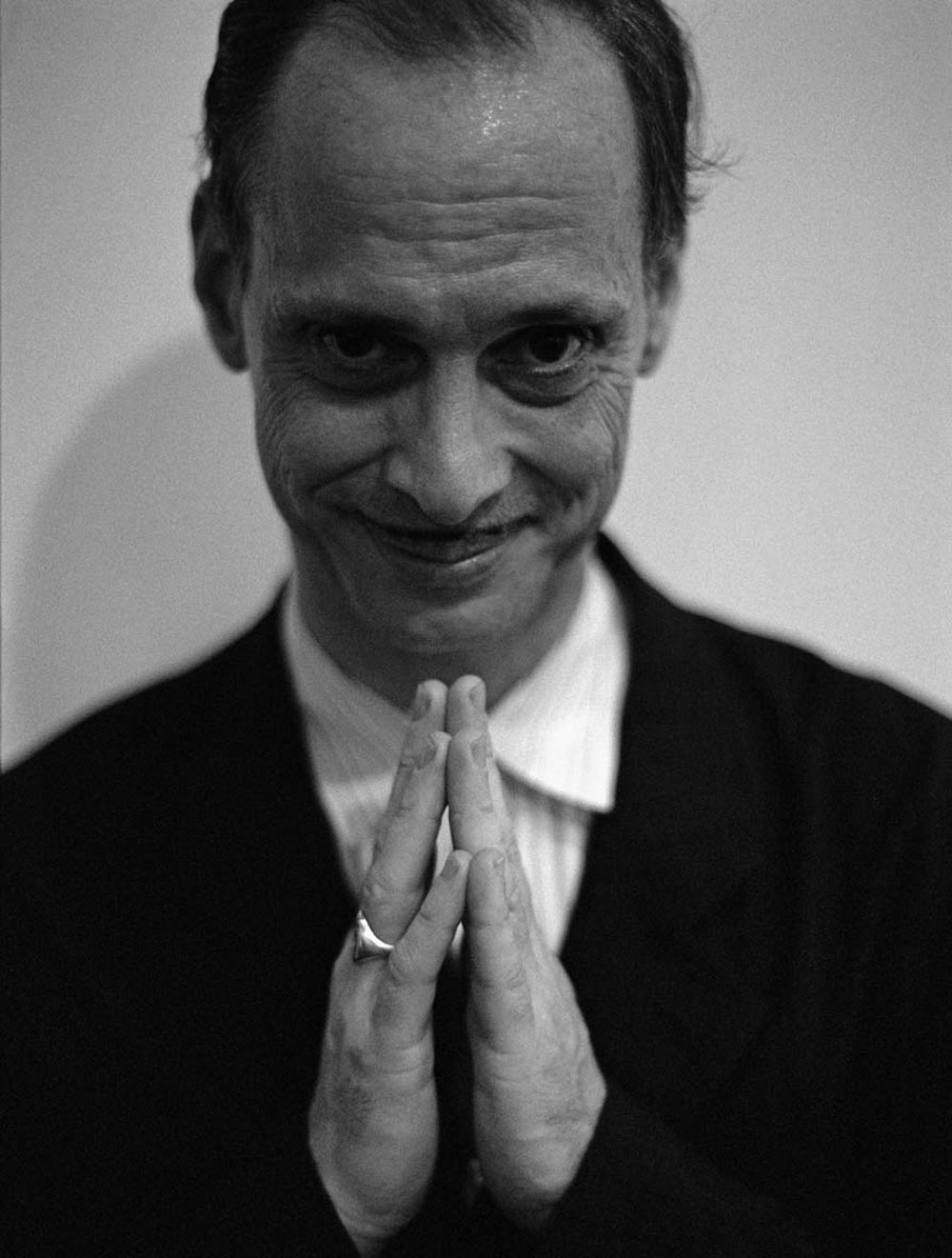 John Waters, New York, 1998, Copyright Mart Engelen
