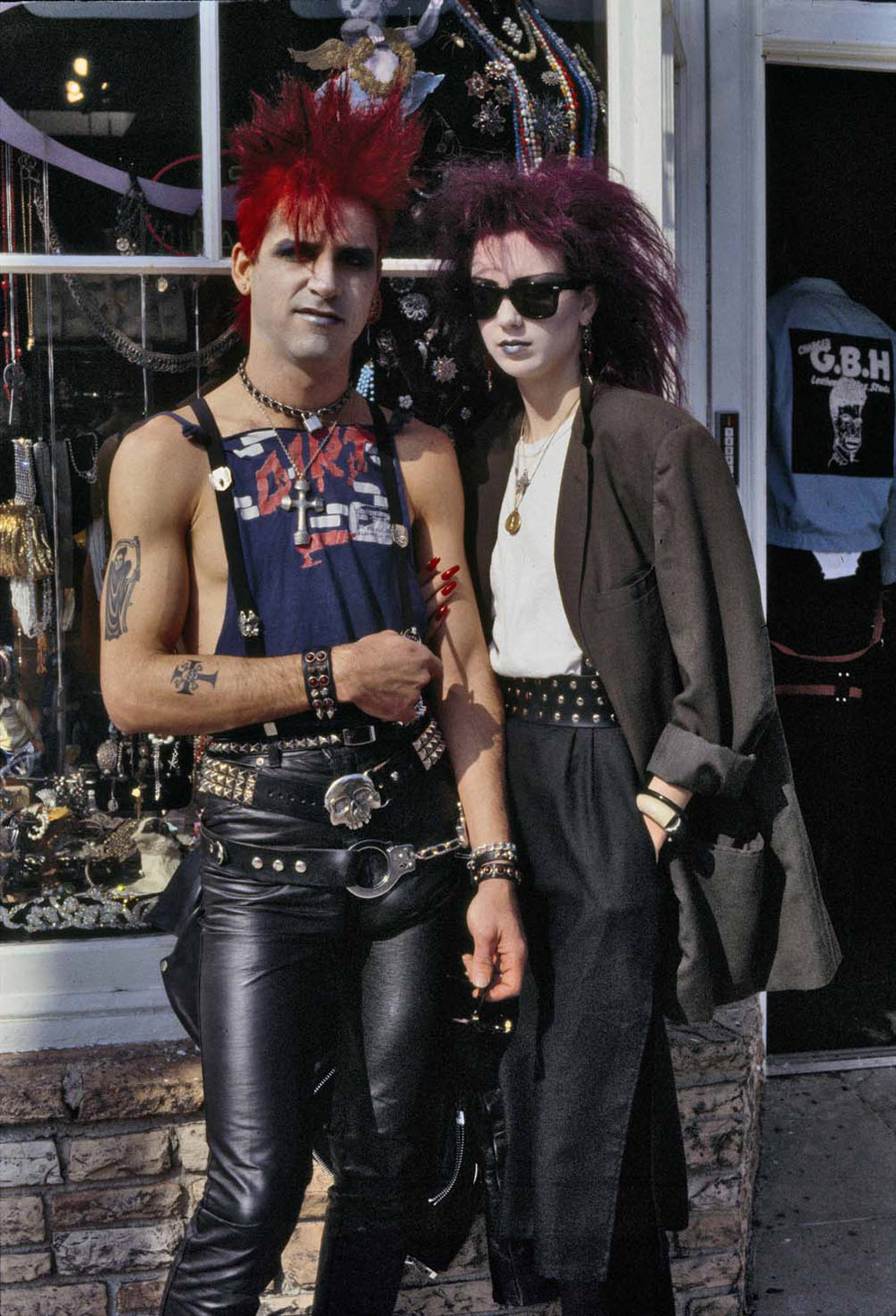 Alice Springs, Melrose Avenue, Los Angeles, 1984, Copyright Alice Springs