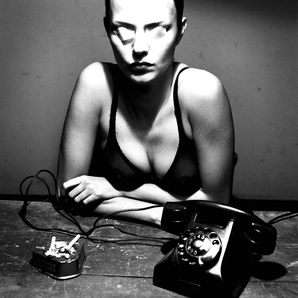 Helmut Newton, The Woman on Level 4 I, Monte Carlo, 2000, Copyright Helmut Newton Estate