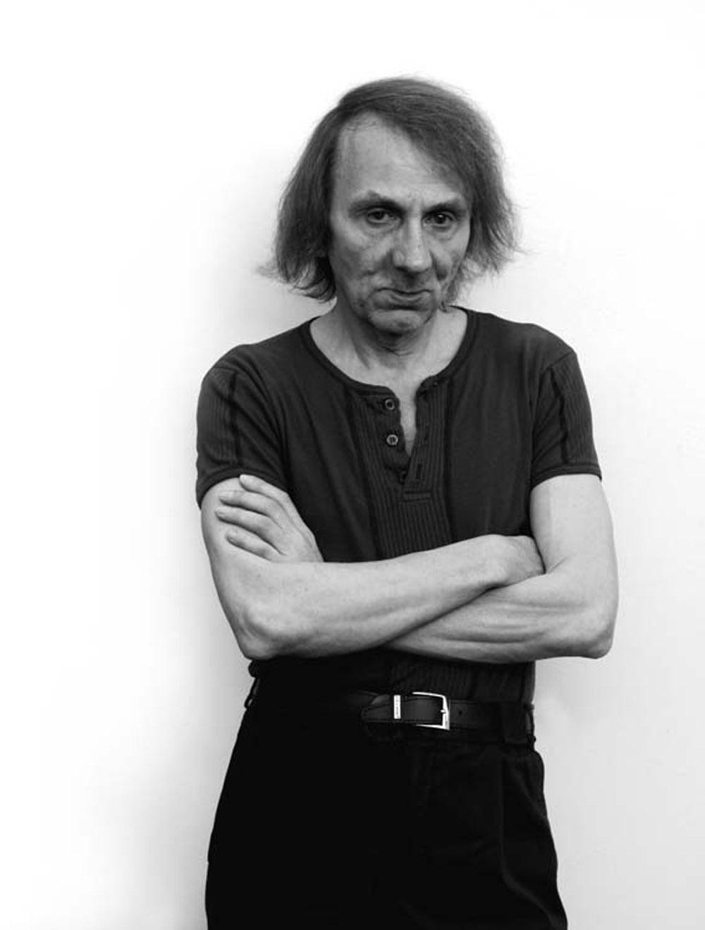Mart Engelen, Michel Houellebecq, Venice 2014, Copyright Mart Engelen